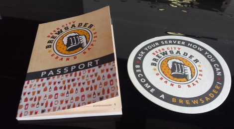 "Grand Rapids Invites You to Become a ""Beer City Brewsader"" With New Passport Program"