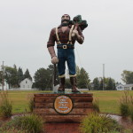 Michigan Roadside Attractions: Paul Bunyan Statue in Oscoda