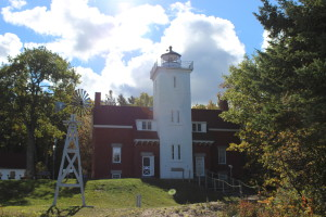 Forty Mile Point Lighthouse Lake Huron