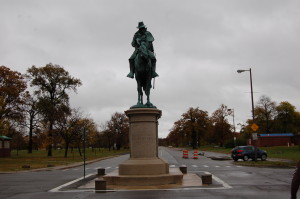 Alpheus S Williams Statue Belle Isle Michigan