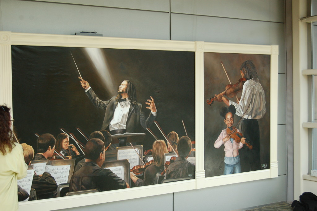 ArtPrize 2014 Conductor Painting