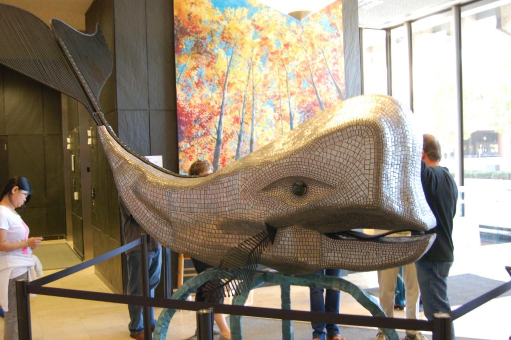 ArtPrize 2014 Mosaic Whale