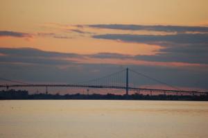 Belle Isle Detroit Sunset Michigan