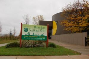 Belle Isle Nature Zoo Michigan