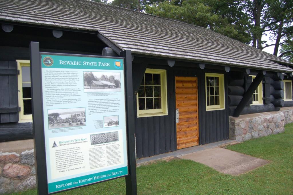 Bewabic State Park CCC Information