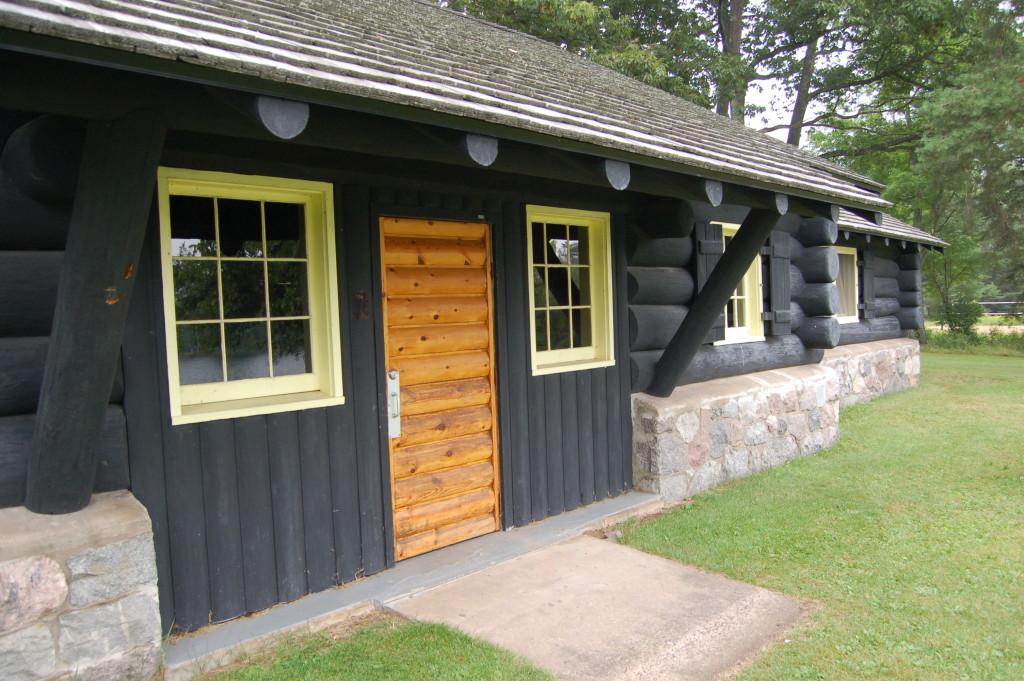 Bewabic State Park CCC Longhouse