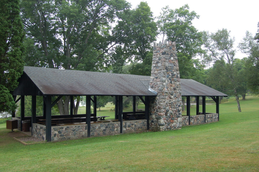 Bewabic State Park CCC Picnic Shelter
