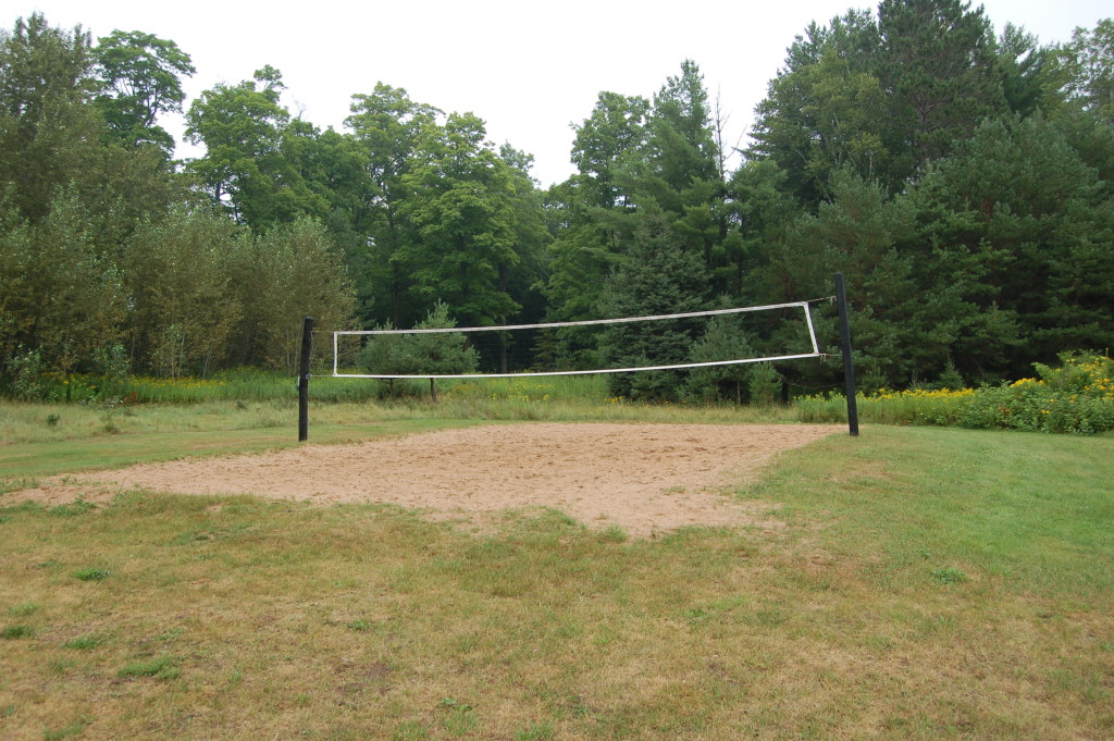 Bewabic State Park Volleyball Court
