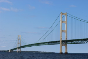 Mackinac Bridge Sheplers Ferry Tour