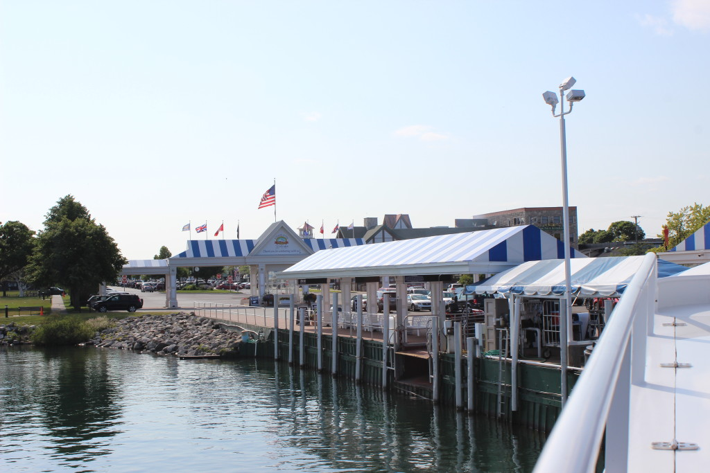 Shepler's Ferry Dock