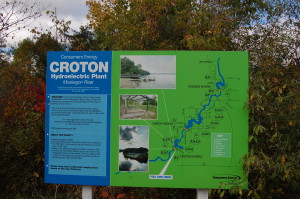 Croton Dam Michigan Consumers Sign