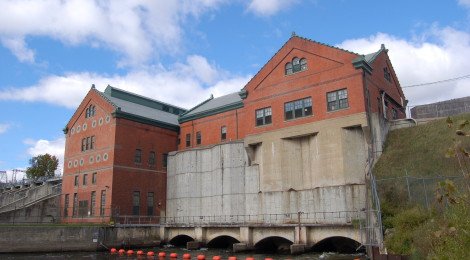 Croton and Hardy Dams in Newaygo County - Historic Landmarks on the Muskegon River