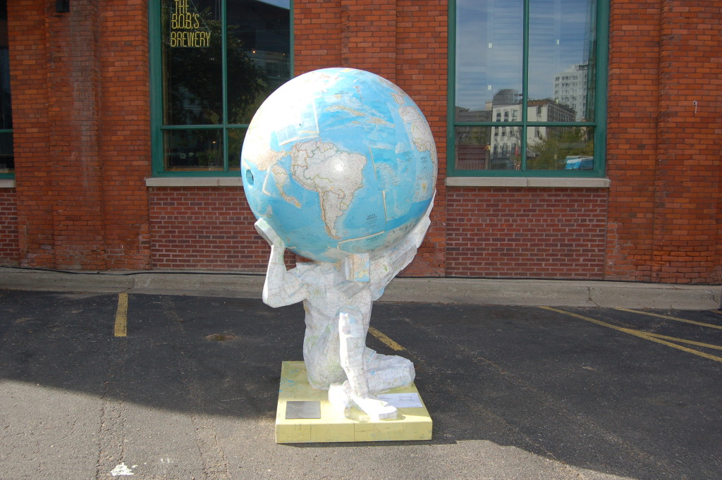 """Atlas Recycled"" by Tom Tsuchiya"