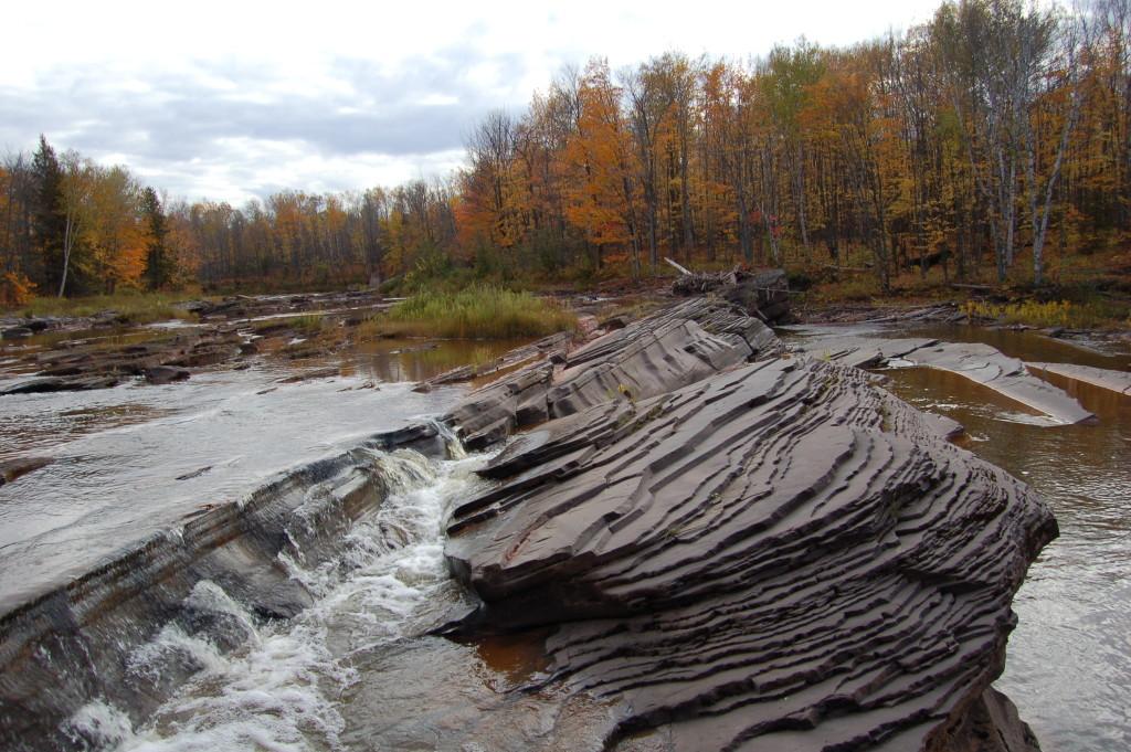 Big Iron River at Bonanza Falls