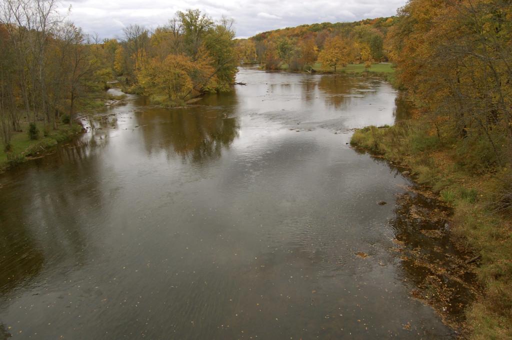 Flat River near Fallasburg Park