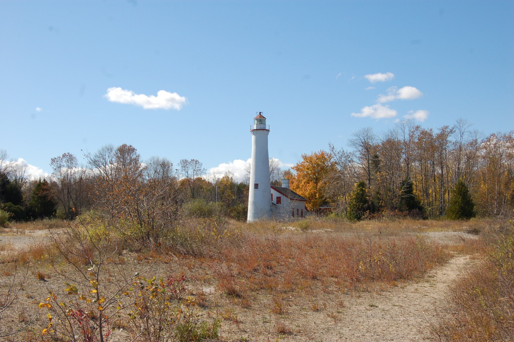 Fall Color Sturgeon Point Lighthouse