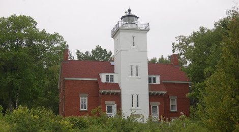 Forty Mile Point Lighthouse - A Historic Beacon on Lake Huron's Shipwreck Coast