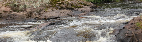 Granite Rapids - A Small Yet Scenic Upper Peninsula Waterfall in Bessemer