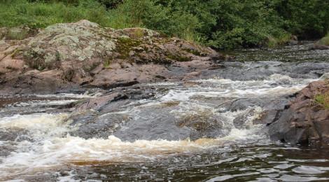 Granite Rapids - A Small Yet Scenic Upper Peninsula Waterfall in Bessemer