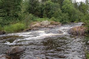 Granite Rapids Waterfall Bessemer Michigan