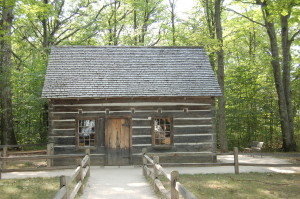 Hesler Log Cabin Old Mission