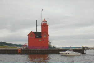 Holland Harbor Lighthouse Michigan 1