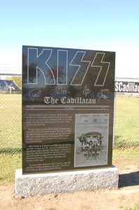 KISS Cadillac Marker Monument
