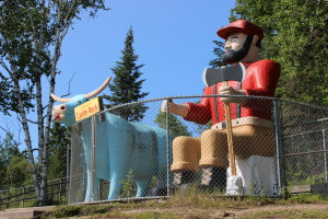 Paul Bunyan Statues Castle Rock Michigan