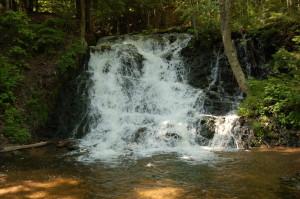 Marquette Mountain Waterfall Morgan Falls