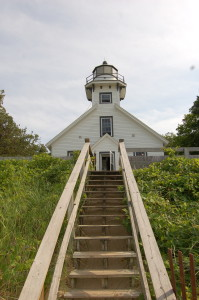 Old Mission Lighthouse Lake Michigan
