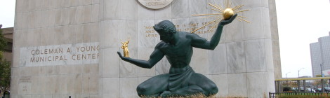 Michigan Roadside Attractions: The Spirit of Detroit, An Iconic Motor City Monument