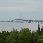 Straits State Park – Camping and Great Views of the Mackinac Bridge