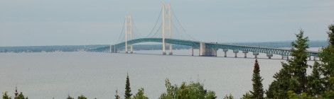 Straits State Park - Camping and Great Views of the Mackinac Bridge