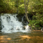 Unnamed Falls on Morgan Creek in Marquette County – A Scenic, Easily Accessible Waterfall
