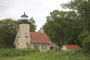 White River Lighthouse Lake Michigan