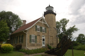 White River Lighthouse Up Close
