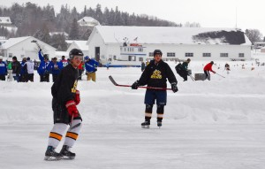 Things To Do In Michigan This Winter - Pond Hockey