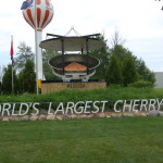 Michigan Roadside Attractions: World's Largest Cherry Pie in Charlevoix