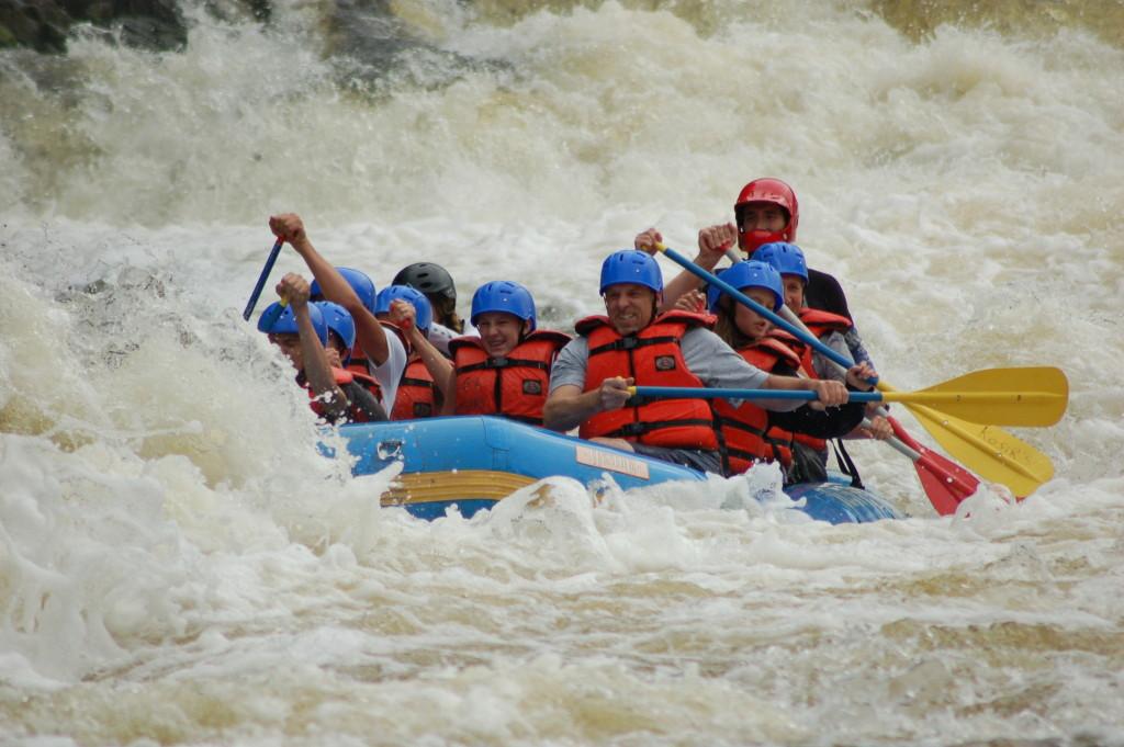 Menominee River Whitewater Rafting Michigan