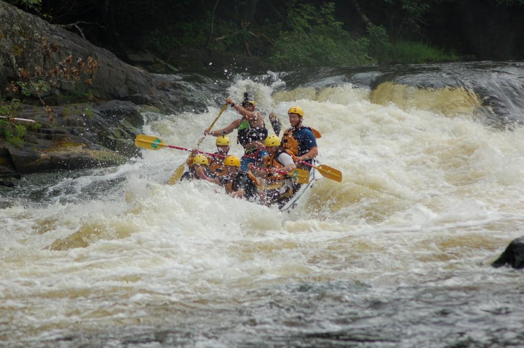 Misicot Falls Michigan DNR Rafting