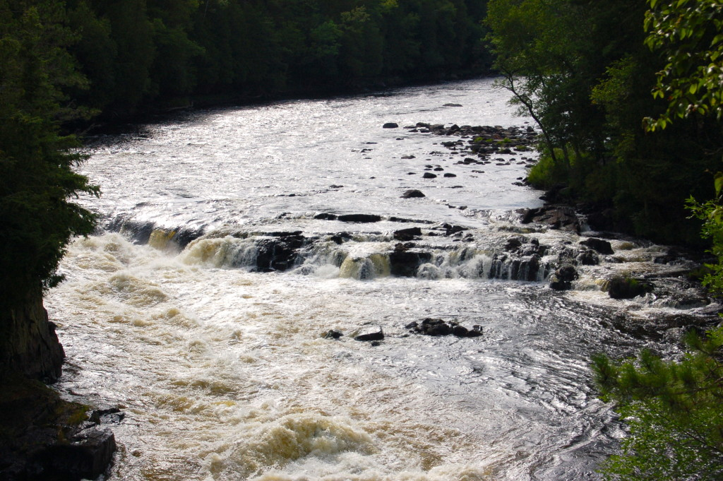 Misicot Falls Wide View Menominee River