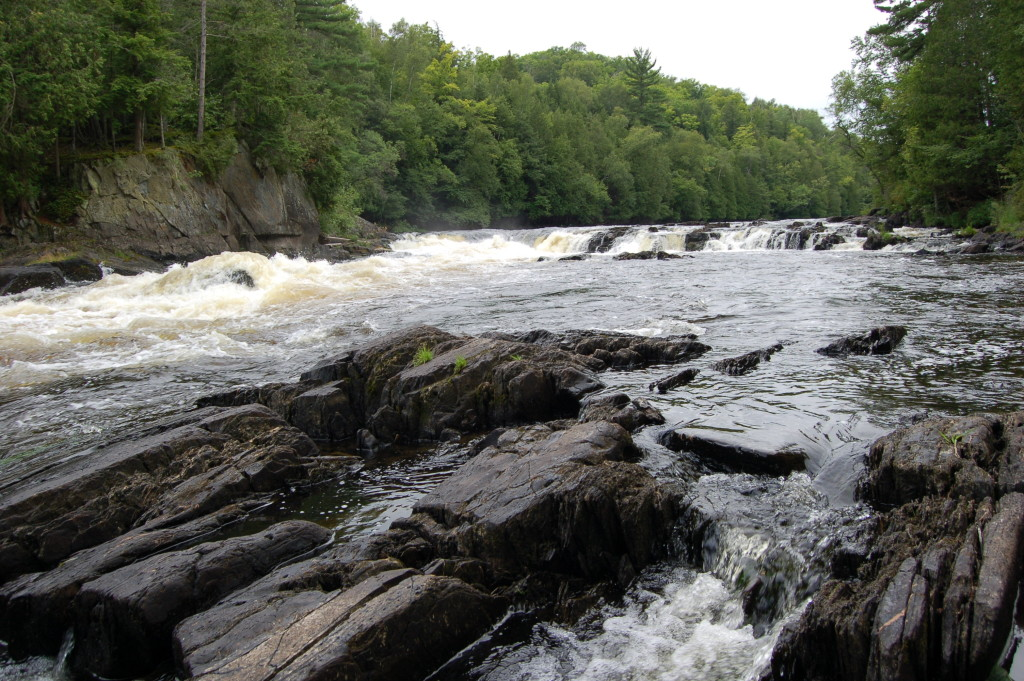 Piers Gorge Menominee River Rocky River