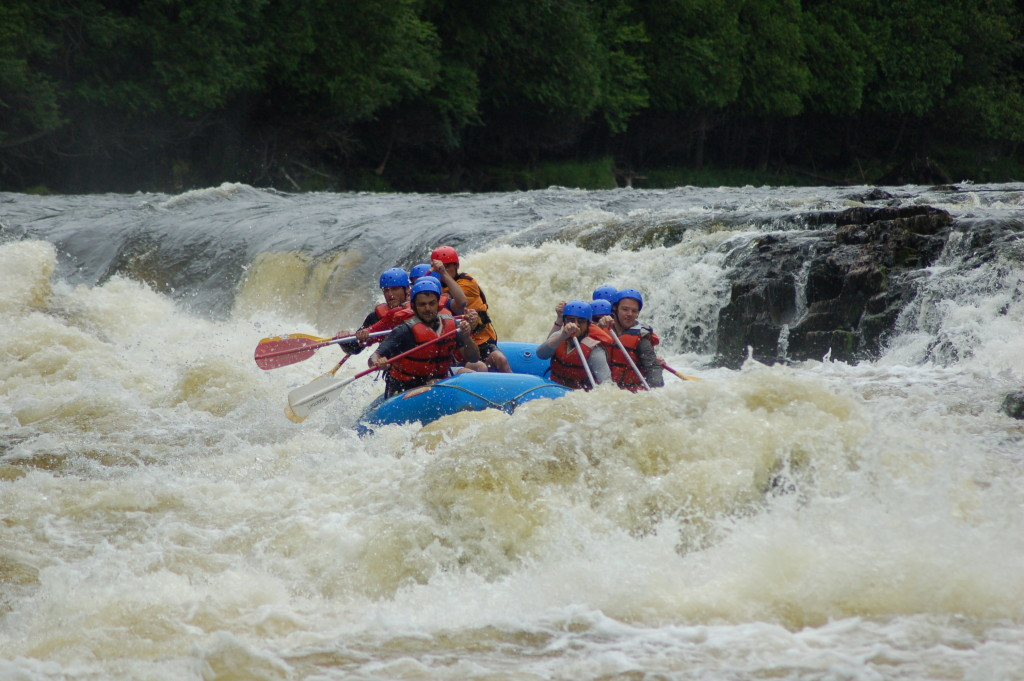 Piers Gorge Misicot Falls Rafting