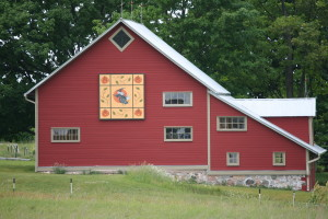 Old Mission Peninsula Quilt Barns