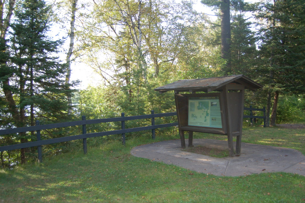 Van Riper State Park Michigan Information Sign