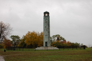 William Livingstone Lighthouse Belle Isle Michigan