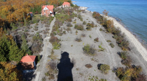 You Can Own Your Own Michigan Island That Comes With a Historic Lighthouse