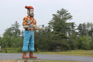 Paul Bunyan Statue Manistique