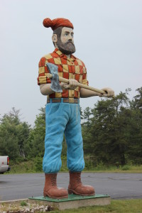 Paul Bunyan Statue Michigan Schoolcraft