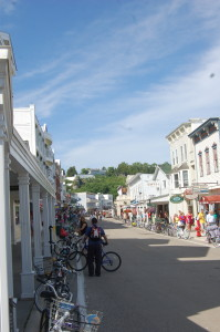 Mackinac island Bicycle Michigan